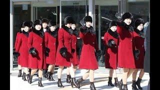 Северокорейские красавицы на олимпиаде 2018