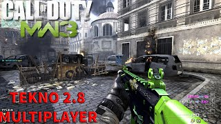 COD MW3 MULTIPLAYER 2018 PC TEKNO 2.8 ONLINE DZ GAMEPLAY