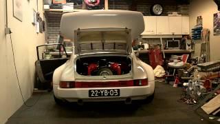 First start up Porsche 911 RSR 3.6