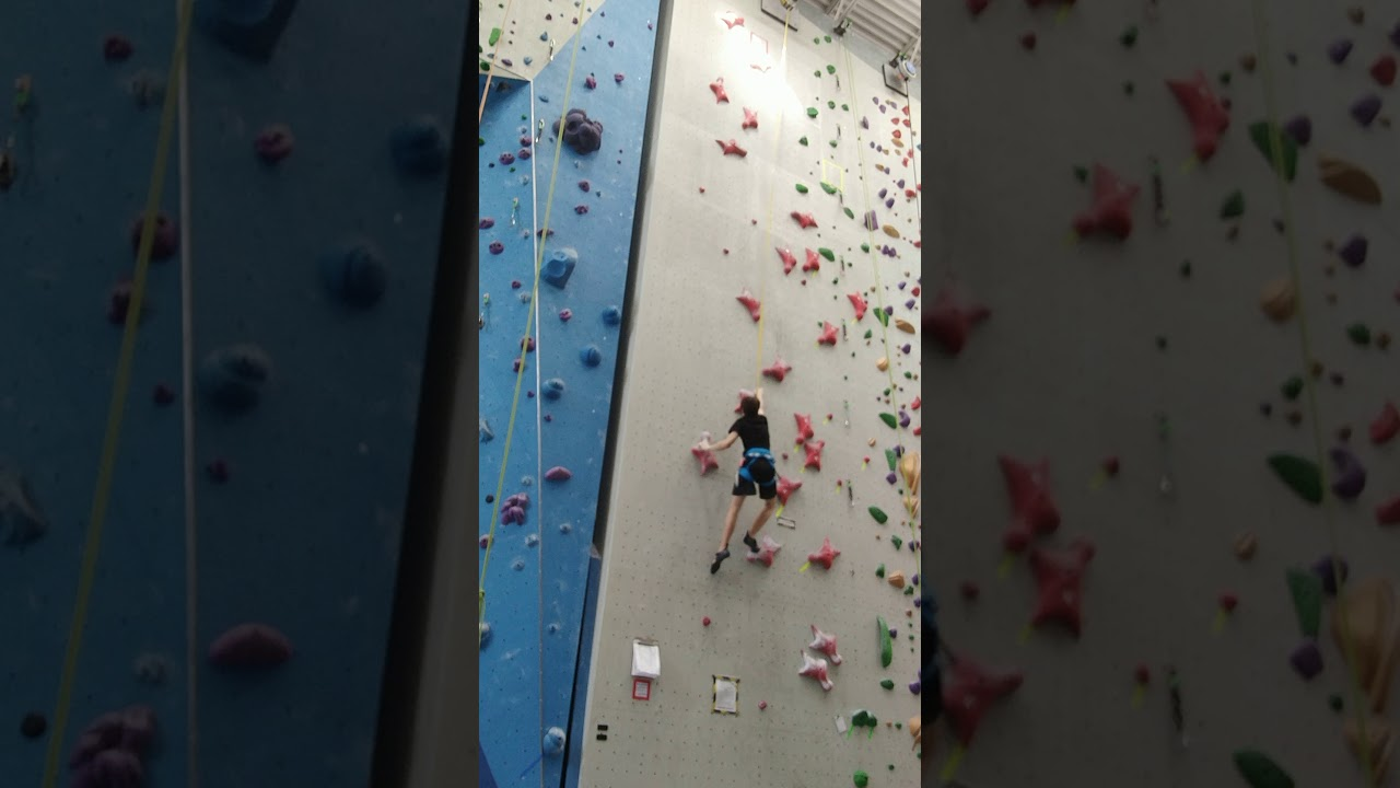 Speed Climbing (try #1)
