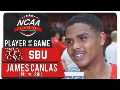 NCAA 94 MB: James Canlas' performance earns him PoG | LPU vs. SBU | October 18, 2018