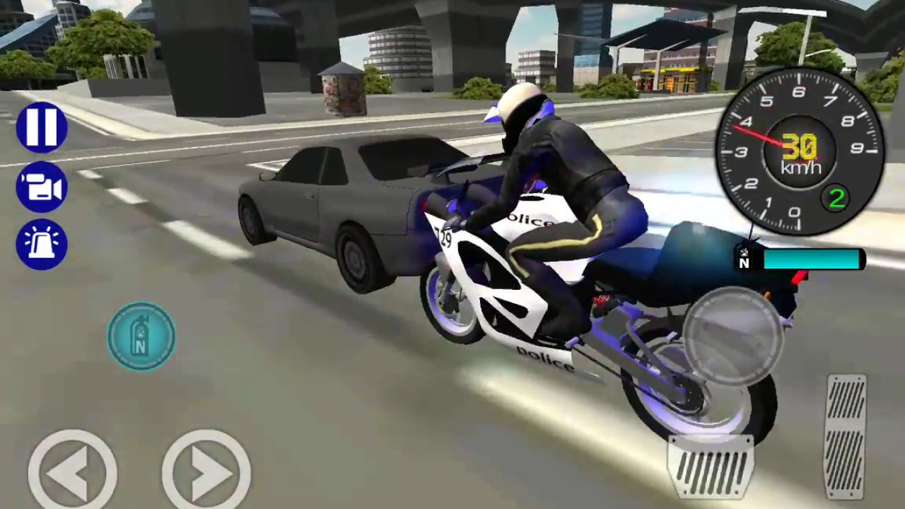 Police Bike City Simulator Best Android Gameplay Hd Youtube
