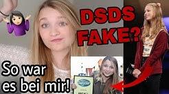 DSDS FAKE?!😳 - Meine Erfahrung!🤐