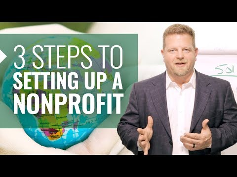 3 Steps To Setting Up a Nonprofit Organization (Starting and Running NonProfit - NEW!)
