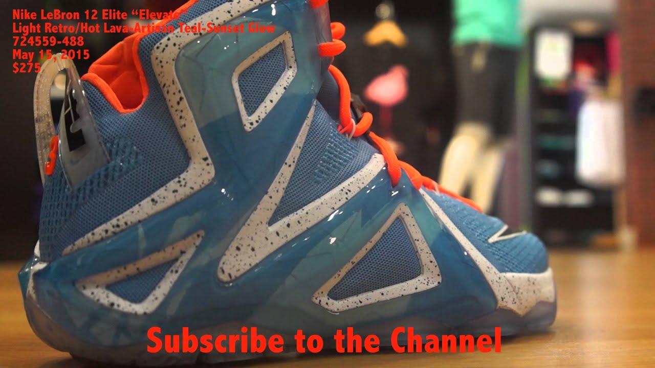 """803d54a54f52e Nike LeBron 12 Elite """"Elevate"""" - YouTube"""