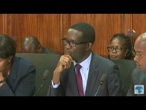 LIVE: IEBC audit query by the Parliamentary Public Accounts Committee