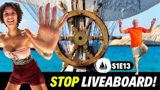 Liveaboard Lifestyle - Our Day Off - Dawn Hunters Steel Motorsailer