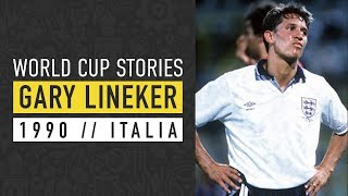 Gary Lineker | England vs Germany | Italia 90 | World Cup | SPORF