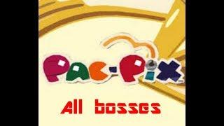 Pac-Pix: All Bosses