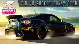 Video 1014HP 7.0 LITRE V8 ROCKET BUNNY GT86 DRIFT BUILD!!! | Forza Horizon 3 Custom Cars #3 download MP3, 3GP, MP4, WEBM, AVI, FLV Desember 2017