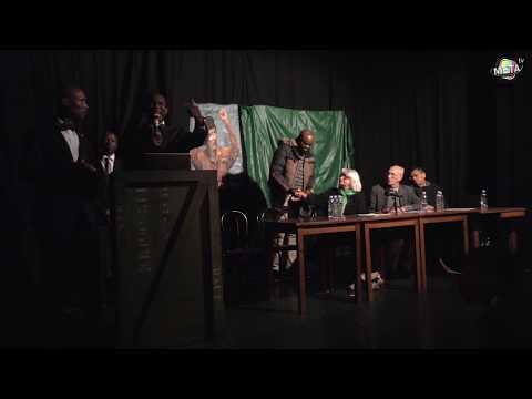 Conférence sur l'assassinat de Kadhafi à la main d'or le 18/11/2017 (Dieudonné & Patrick Mbeko) 2