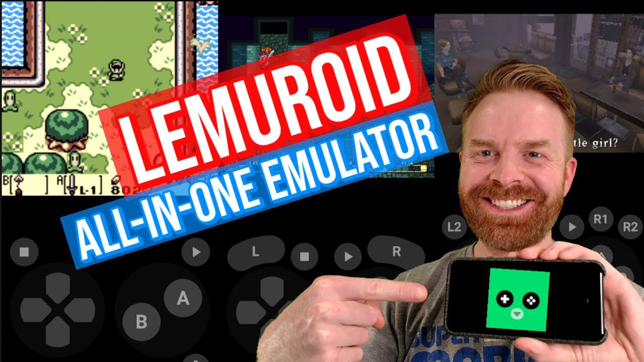 Lemuroid: Easy all in one emulator app for Android (quick setup / tutorial)