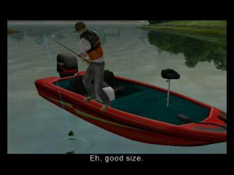 Sega Bass Fishing ( Wii GAMEPLAY)