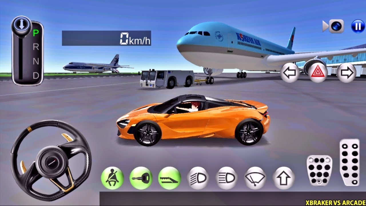 3D Driving Class #88 - McLaren New Orange Paint Unlocked - Best Android Gameplay