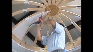 Repeat youtube video How to Drywall a Dome Ceiling with Archways & Ceilings Made Easy