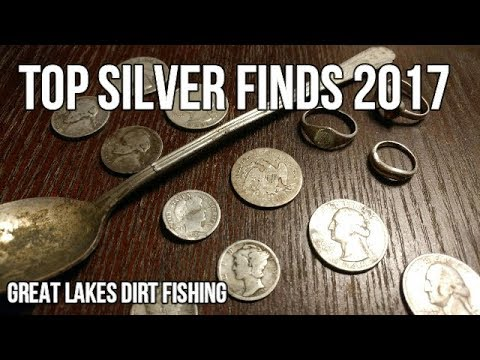 TOP SILVER FINDS FOR 2017!! (OLD RARE COINS, SILVER JEWELRY, RELICS)