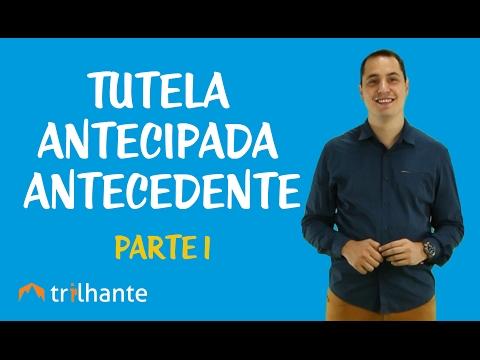 Видео Novo CPC Tutela Provisória de Urgência Antecipada Antecedente