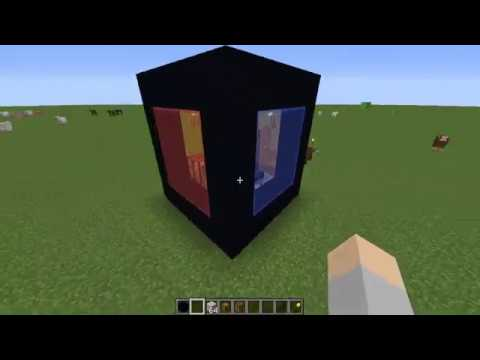 How To Make A Rubik House 1x1 In Minecraft Youtube