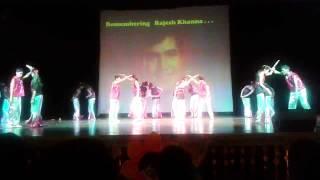 Tribute to Rajesh Khanna by manav mangal SMART SCHOOL.wmv
