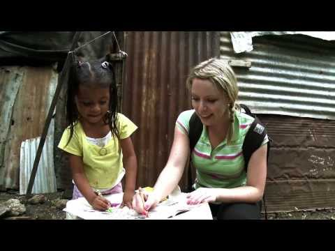 Kitchener Weather Specialist Lyndsay Morrison in Nicaragua