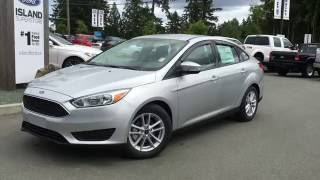 2016 Ford Focus SE Sedan Review  | Island Ford(View photos and more info at http://live.cdemo.com/brochure/idZ20160624114863571043. This is a 2016 Ford Focus with 6-Speed A/T transmission Silver[Ingot ..., 2016-06-24T20:58:49.000Z)