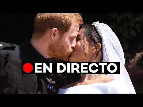 Directo: La Boda Real del príncipe Harry y Meghan Markle