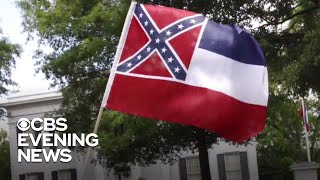 Mississippi Takes Steps To Remove Confederate Battle Emblem From State Flag