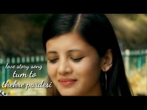 Tum To Thehre Pardesi | Koi Deewana Kehta Hai | New Latest Love Story Song