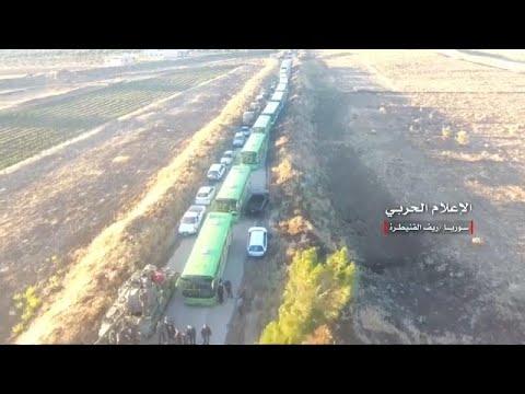 شاهد: الجيش السوري ينشر لحظة إجلاء مقاتلي المعارضة من القنيطرة…  - نشر قبل 3 ساعة