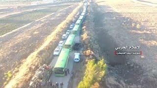 شاهد: الجيش السوري ينشر لحظة إجلاء مقاتلي المعارضة من القنيطرة…