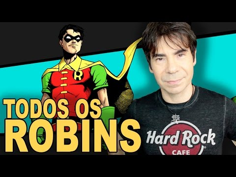 TODOS OS ROBINS da DC   ORIGEM
