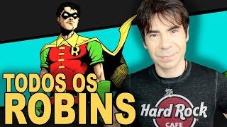 TODOS OS ROBINS da DC | ORIGEM
