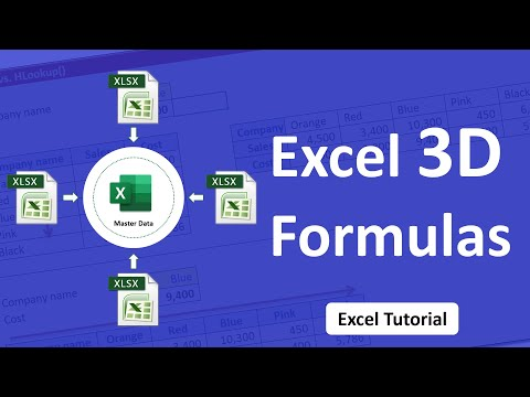 Video Clip Hay Three Dimensional 3d Tables In Excel