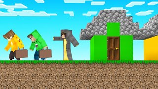 I EVICTED My FRIENDS From COW TOWN! (Minecraft)