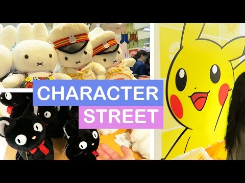Tokyo Character Street in Tokyo Station | TOKYO JAPAN VLOG