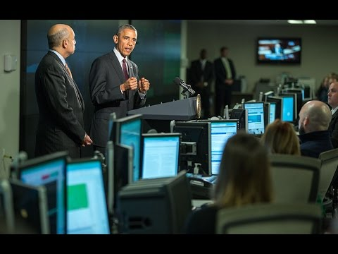 The President Speaks About Cybersecurity