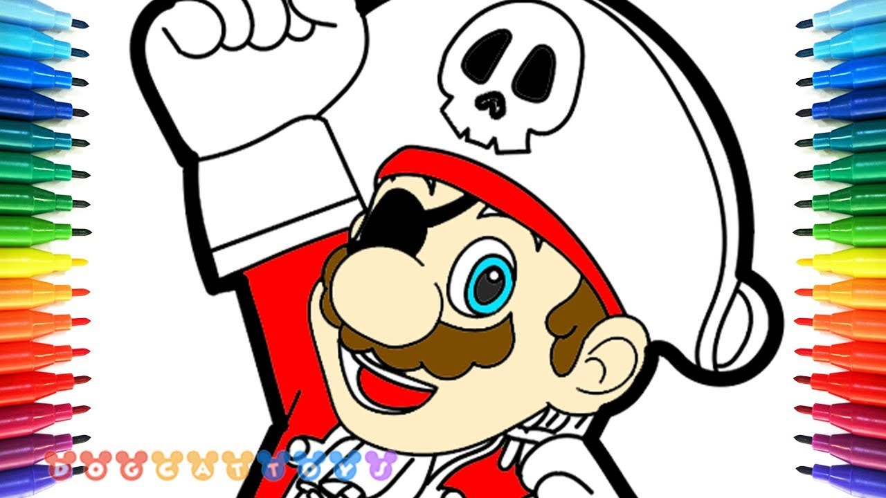 how to draw super mario odyssey