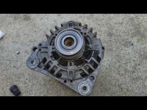 Vw Volkswagen fix rattle serpentine belt at idle