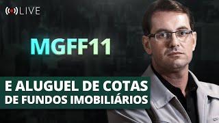 Prof. Baroni e o Gestor do MGFF11 Encerram a Trilogia sobre Aluguel de Cotas em FIIs