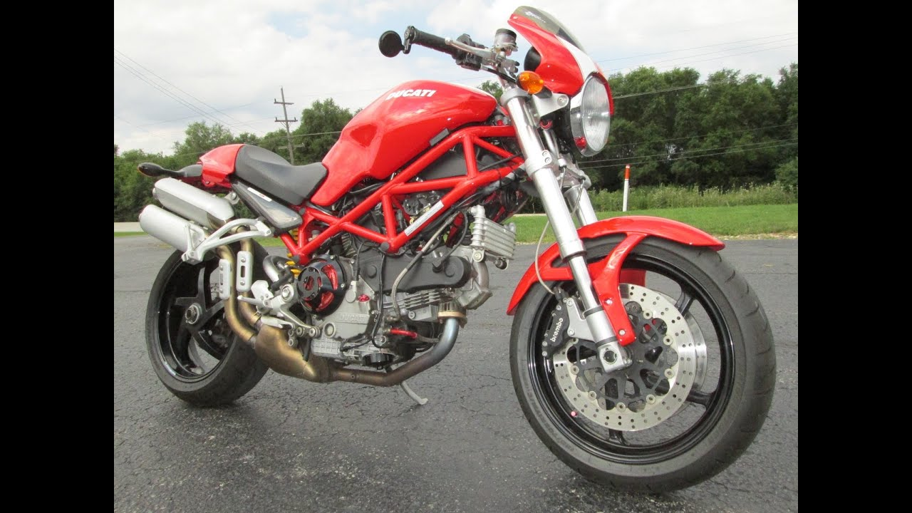 2007 DUCATI MONSTER S2R 1000 - YouTube