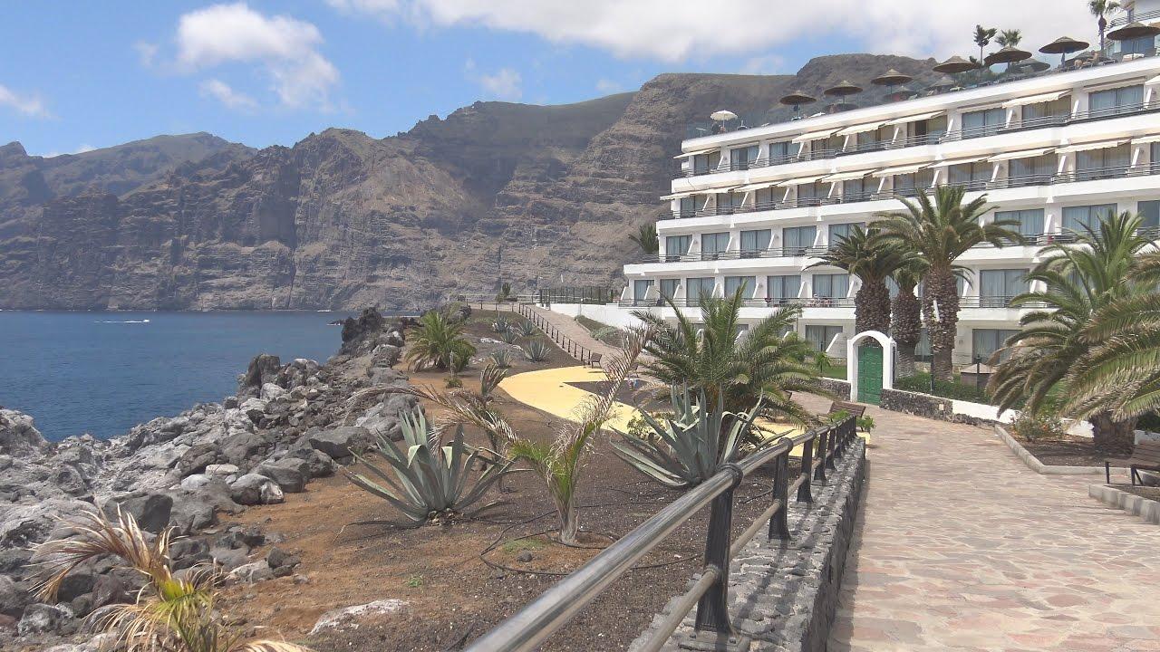 Puerto de santiago tenerife 4k youtube for Piscina natural de puerto santiago
