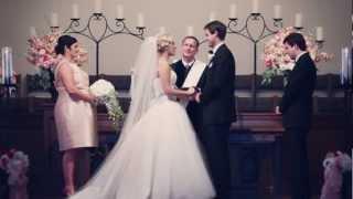 Asbury Methodist & Mayo Hotel wedding {Tulsa wedding video}