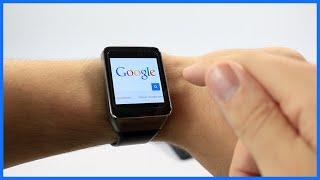 Naviguer sur internet à l'aide de sa montre connectée Android Wear
