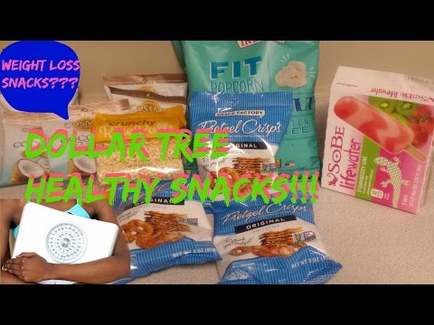 Dollar Tree HEALTHY Snacks | NON GMO |  GLUTEN FREE | ORGANIC | NATURAL |  **IDEAL FOR WEIGHT LOSS**