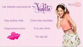 Las mejores canciones de Violetta 2