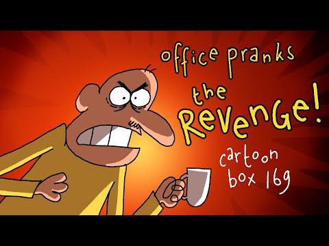 Office Pranks: The REVENGE | Cartoon Box 169 | By FRAME ORDER | Office Prank Cartoon
