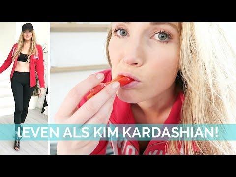 Dit gebeurt er als je een dag het dieet van Kim Kardashian volgt