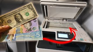 What happens if you photocopy money [multiple currencies] [interesting]