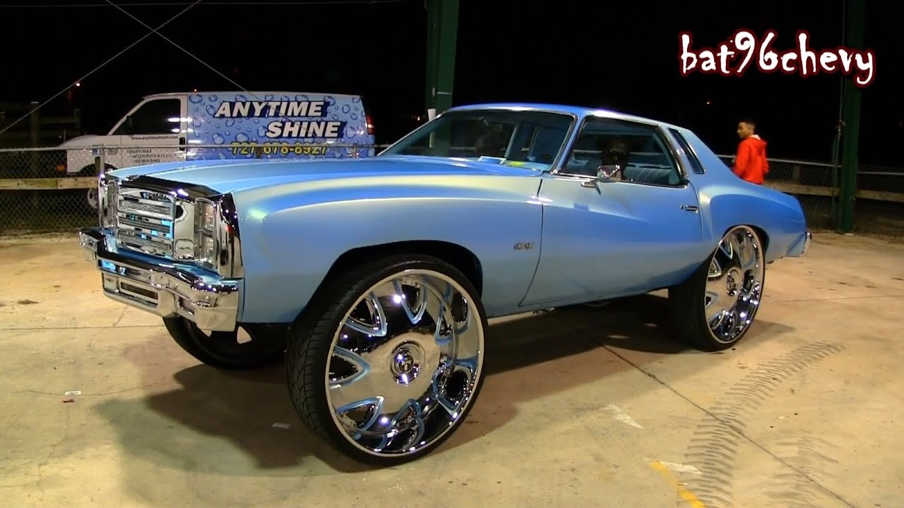 Outrageous 1976 Chevy Monte Carlo On 32 Quot Dub Bandito