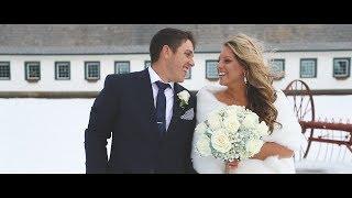Geralyn & Brett Wedding Video: Highlight - Perona Farms, Andover, NJ